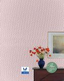 Decoración de paredes de fibra de vidrio Wallcovering Paper Pre-Painted Tissue Mat