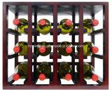 De Tribune van de Vertoning van de Wijn van het Overzicht van de fabriek met de Opslag van de Fles van het Rek van de Vertoning