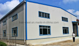 Rápidos prefabricados instalan el edificio de la planta y del almacén de la estructura de acero