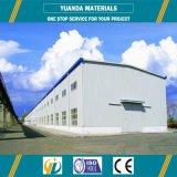 Fait en structure en acier d'entrepôt de la Chine