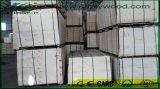 Corte giratório do folheado de Okoume para placas