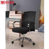 Presidenza poco costosa dell'ufficio della maglia di colore del nero della mobilia di Shengshi con il bracciolo