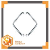 Maniglia della serratura dell'acciaio inossidabile di disegno di modo per il portello di vetro