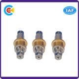 6각형 연결관 나사 Pin를 기계로 가공하는 스테인리스 & 고급장교 또는 구리 CNC