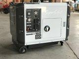 新しいデザインディーゼル機関の極度の沈黙の発電機5kw