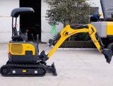 mini excavador 1700kg con el motor importado de Perkins