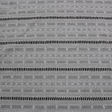 Tissu de broderie en coton à manches courtes