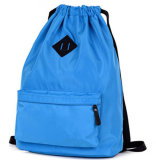 Do saco de nylon do curso do saco de Schoo do Drawstring saco de escola simples