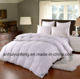 Witte voelt Zacht van de luxe de Reeks van het Beddegoed van de Dekking van het Dekbed van het Dekbed