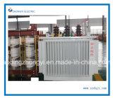 De Pool-opgezette Olie Ondergedompelde Transformator van 3 Fase van de Macht Elektro met het Winden van het Koper