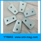 Магнит дуги неодимия Fixable с отверстием