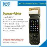 제 2 인쇄 기계를 가진 Barcode 스캐너 휴대용 인조 인간 스캐너 소형 단말기 PDA