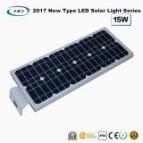 2017新型オールインワン太陽LEDの庭ライト15W
