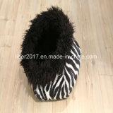 Casa da base da forma do gato do filhote de cachorro do cão do teste padrão da zebra dos produtos do animal de estimação