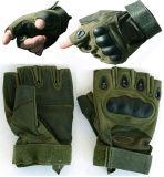 反刺針火の軍のMulticamo防水野生のTraning Multicamoのカムフラージュの戦術的な屋外のBionic完全半分指のスポーツの走行の皮手袋