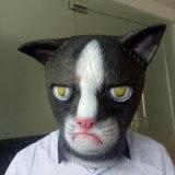 Máscara principal completa de la mascarilla del látex de la máscara de Víspera de Todos los Santos del látex de la máscara del partido