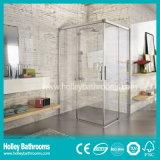 Cabine de douche de forme sectorielle de haute classe avec verre trempé (SE330N)