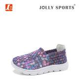Ботинки Weave нового типа отдыха способа цветастые для повелительниц женщин