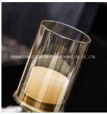 Роскошный Glaass свеча держатель для украшения, держатель в форме свечи