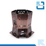 201 het Kamperen van het Fornuis van de Alcohol van het Brons van het roestvrij staal Binnen Draagbaar Fornuis