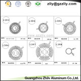 Perfil de aluminio de recubrimiento múltiple el disipador de calor del material de luz LED
