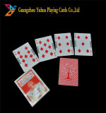 Цветная печать лидеров продаж 0.32мм ПВХ реклама игральные карты Yh04