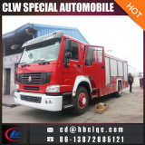 Véhicule de lutte contre l'incendie neuf de pompe à incendie de la Chine 10cbm HOWO 4X2