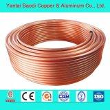 T2 Tube en cuivre pour l'eau du tuyau de refroidisseur d'huile de soupape du tuyau de gaz C10100
