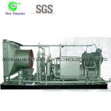 Refrigeración por agua sin aceite intercambiando el compresor oxígeno-gas del pistón