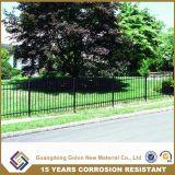 現代様式によって電流を通される鋼鉄塀/鉄の塀/防御フェンス