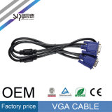Sipu High Speed ​​Male to Male Câble VGA pour ordinateur