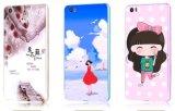 Cassa protettiva del metallo su ordinazione di lusso di stampa per la nota di Xiaomi