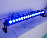 arandela impermeable al aire libre de la pared de 18*10W RGBW 4in1 LED