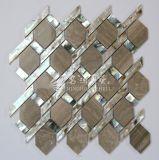 Shell de agua dulce y mosaico de mármol