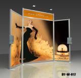 Stand de exposição de exibição de pano de fundo portátil para exposição (DY-W-017)