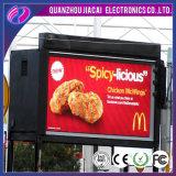 Alta pantalla impermeable al aire libre del brillo P6 RGB LED