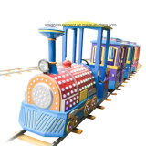 Поезд голубого парада 13 игроков Trackless для парка атракционов