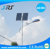 luz de calle solar de 25W los 6m LED