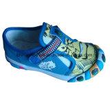 China-Segeltuch-Schuh-Lieferanten-Einspritzung-Kunstfertigkeit