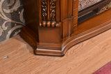 ヨーロッパ式の彫刻のホテルの家具の電気暖炉(319)