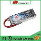 2600mAh 25c 11,1V MODELO R/C de la batería de polímero de litio