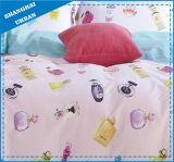 子供の寝具のピンクのスクーターの綿の羽毛布団カバーセット