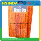 Rivestimento di alluminio di legno impermeabile della polvere del poliestere di profilo di rivestimento di grano di scambio di calore