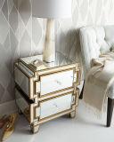 취미 로비 호화스러운 미러 침실 가구 침대 탁자