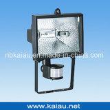 Floodlight de halogéneo de 150W com sensor PIR (KA-FL-150B)