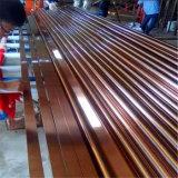 Exportador de China de 201 del acero inoxidable de la decoración especificaciones del tubo con alta calidad