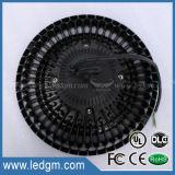 산업 UFO Highbay 점화 램프 IP65는 130lm/W Dimmable 240W 200W 160W 150W 100W 80W LED 높은 만 빛을 방수 처리한다