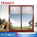 Estilo Francés de alta calidad de la ventana de persianas de aluminio eléctrico