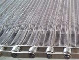 Cinghia della maglia del trasportatore dell'alimento dell'acciaio inossidabile