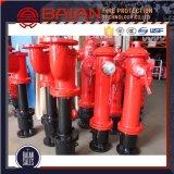 Bocal da boca de incêndio de incêndio da boca de incêndio de incêndio BS750 da coluna